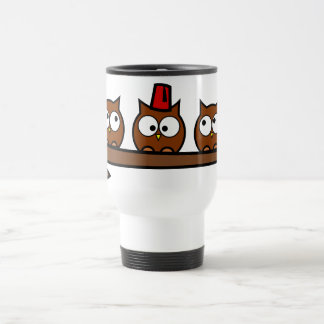 Quirky Owls - Dr T Wit T Who Coffee Mug