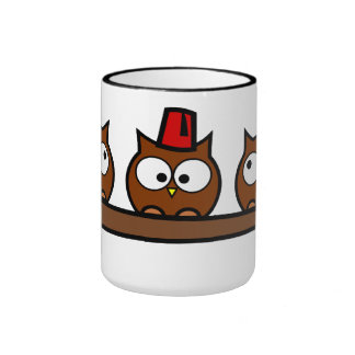 Quirky Owls - Dr T Wit T Who Mugs