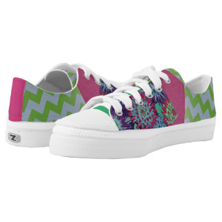 Quirky Patchwork Low Tops