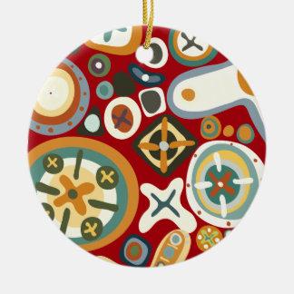 Quirky Shapes Ornaments