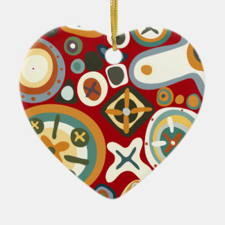 Quirky Shapes Christmas Tree Ornaments
