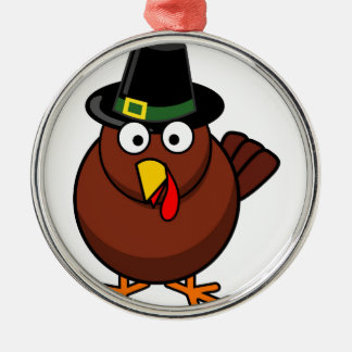 Quirky Turkey Christmas Ornaments