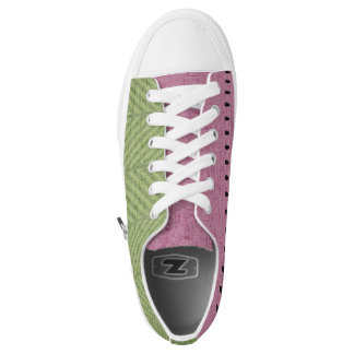 Quirky Watermelon Seed Low Tops