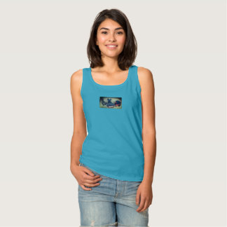 Quirky Whale smile Singlet