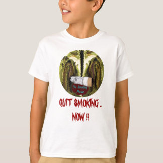 QUIT NOW -  Smoking is injurious to health T-Shirt