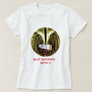 QUIT NOW -  Smoking is injurious to health Tshirts
