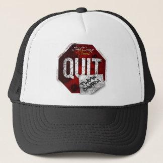 Quit Playin Church Items Trucker Hat