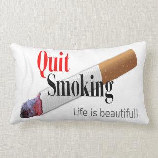 QUIT SMOKING LUMBAR PILLOW