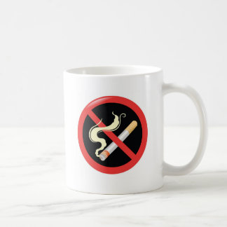 Quit Smoking today Basic White Mug