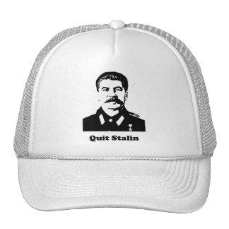 Quit Stalin Mesh Hats