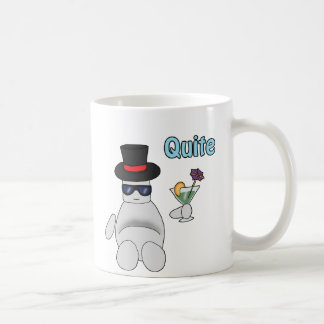 quite basic white mug