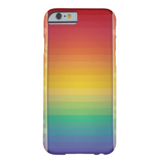 Quite Colorful Rainbow Pattern Barely There iPhone 6 Case