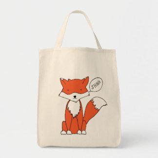 Quite Fox Tote Bag