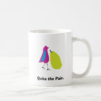 Quite the Pair Classic White Coffee Mug