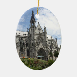 Quito Christmas Ceramic Ornament
