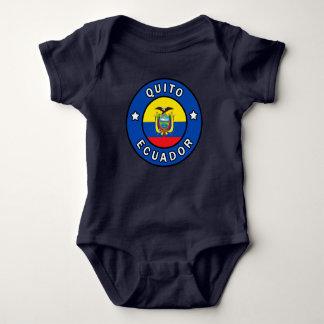 Quito Ecuador Baby Bodysuit