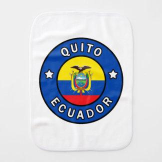 Quito Ecuador Burp Cloth