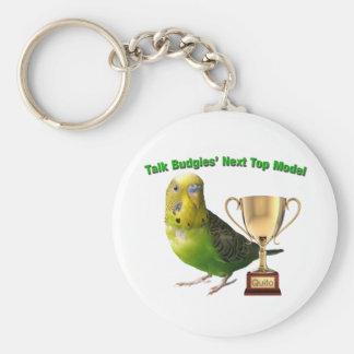 Quito - Next Top Model Winner Basic Round Button Key Ring