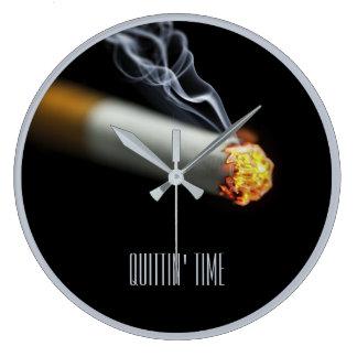 QUITTIN' TIME:  Stop Smoking Reminder Clocks