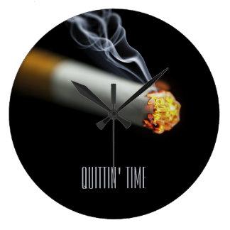 QUITTIN' TIME:  Stop Smoking Reminder Wallclocks