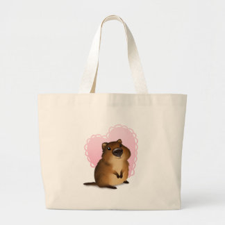 Quokka Large Tote Bag