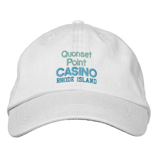 QUONSET CASINO cap Embroidered Baseball Caps
