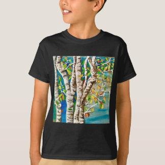 """Autumn Birches"". Acrylics and craft pai T-Shirt"