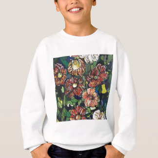 """Mosaic Garden"". Acrylics on canvas.#pai Sweatshirt"