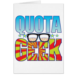 Quota Geek v4 Card