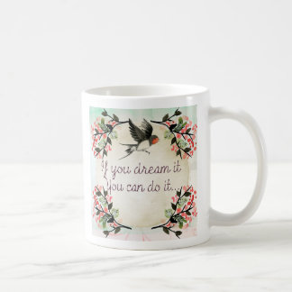 Quotation vintage mug