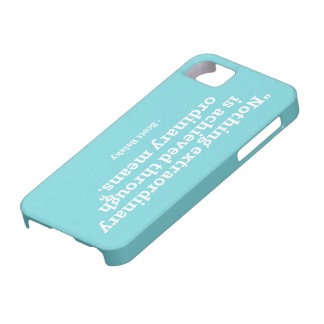 Quote 1 iPhone 5 case