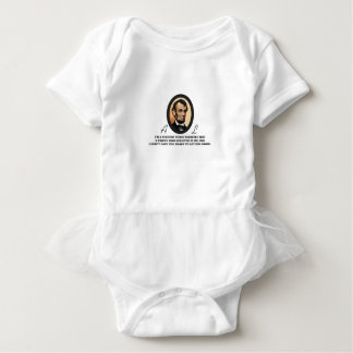 quote abe color baby bodysuit