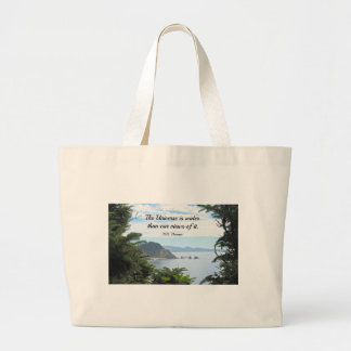 Quote about our views of the universe bags