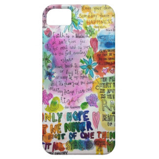 Quote Barely There iPhone 5 Case