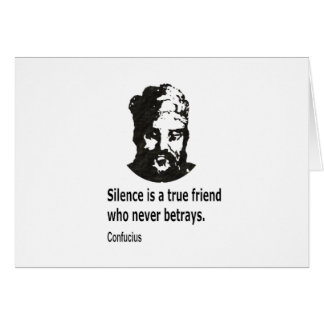 Quote By Confucius Card
