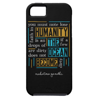 Quote by Mahatma Gandhi Case For The iPhone 5
