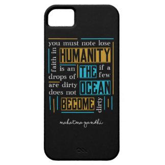Quote by Mahatma Gandhi iPhone 5 Cases