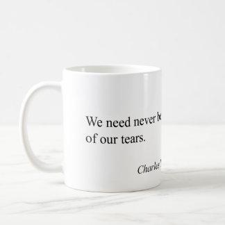 Quote Charles's Dickens Coffee Mug