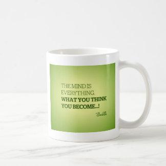 Quote from Buddha Mug