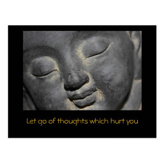 Quote - Let Go Postcard