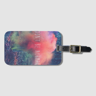 quote luggage tag