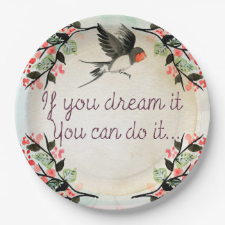 Quote Paper Plate