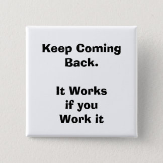quote, recovery 15 cm square badge