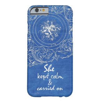 Quote: She Kept Calm & Carried On Barely There iPhone 6 Case