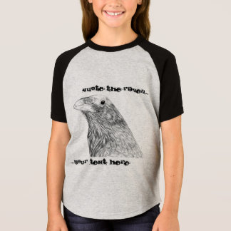 Quote the Raven Customizable Girl's T-Shirt