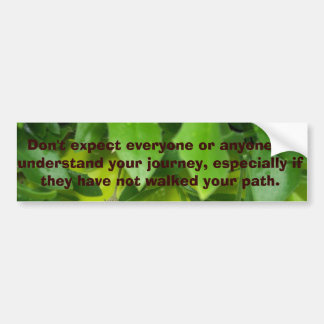 Quoted Bumper Sticker #15 © Roseanne Pears 2014.