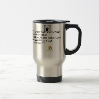 Quotes About Life- Rough Times Solution Stainless Steel Travel Mug