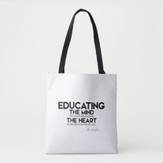 QUOTES: Aristotle: Essence of life Tote Bag