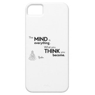 QUOTES: Buddha - Mind is everything iPhone 5 Cover