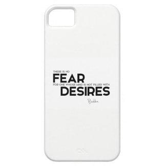 QUOTES: Buddha: No fear, no desires iPhone 5 Case